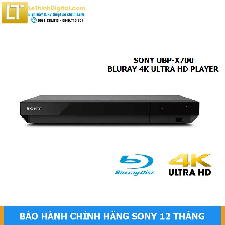 Đầu đĩa Blu-ray Sony 4K UBP-X700 – Hãng phân phối – Bảo hành 12 tháng