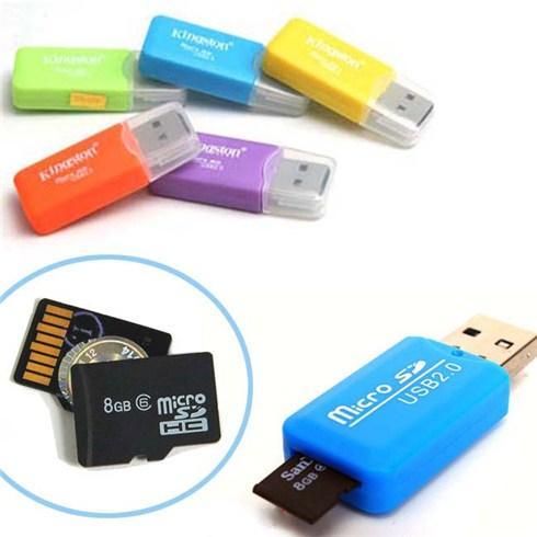 Đầu đọc thẻ nhớ tiện lợi cho thẻ nhớ Micro SDHC