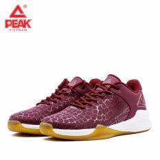 Giày bóng rổ PEAK Rising Star Leather E84141A – Đỏ Trắng