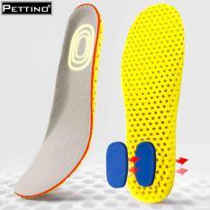 01 cặp lót giày thể thao, lót giày tập gym, chạy bộ, leo núi, thiết kế tổ ong có lớp kháng khuẩn và gót kháng lực PETTINO-LLTX05