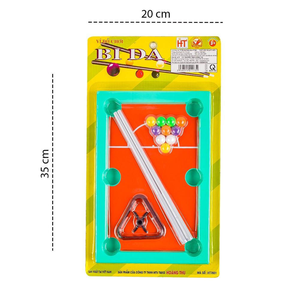 Đồ chơi phát triển trí tuệ cho bé giúp bé thông minh - đồ chơi bida mini cho bé HT7601-...