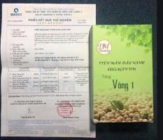 (có quà) viên mầm đậu nành tăng vòng 1 collagen dm 100gram
