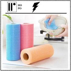 [ GIẢM GIÁ SÂU ] Cuộn Giấy Vải Lau Đa Năng – Vải Không Dệt ( 50 Tờ/Cuộn) – Màu Ngẫu Nhiên
