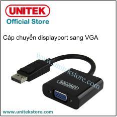 [UNITEK STORE] Cáp chuyển cổng DisplayPort sang VGA Unitek Y-5118E