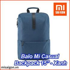 """Balo Thời Trang Xiaomi Mi Casual Backpack (15"""") – Xanh dương"""