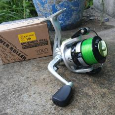 Máy câu cá Yolo KFC4000 tặng cước cuốn sẵn