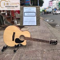 Đàn Guitar Acoustic có ty giá rẻ cho người mới chơi tặng kèm giáo trình bảo hành 12 tháng