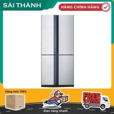 Tủ lạnh Sharp Inverter 626 lít SJ-FX631V-SL – Bảo hành 12 tháng