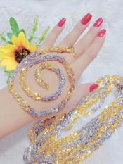 [ Hàng Mới Lạ ] Dây Chuyền Nữ Đuôi Phùng Hai Màu Vàng và Bạc 1202106 – Bao đổi trả trong vòng 07 ngày – Hổ trợ khách tối đa – trang sức nữ, dây chuyền đẹp