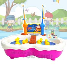 Đồ chơi câu cá hình vịt con màu vàng dùng pin có nhạc cho bé 685-30 – Đồ khuyến mãi giá tốt