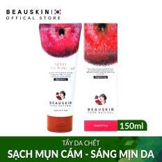 Tẩy da chết trắng da, sạch mụn cám, mụn đầu đen Beauskin Apple white peeling gel 150ml – Hàn Quốc Chính Hãng