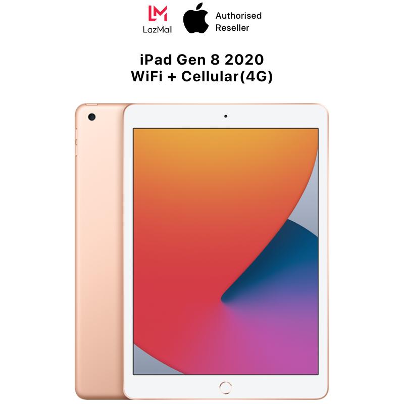 iPad Gen 8 2020 10.2-inch WiFi & Cellular(4G) – Hàng Chính Hãng