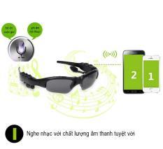 Mắt Kính Bluetooth 4.0 Smart Glass Thông Minh Kết Nối Bluetooth (phù hợp cho Nam & Nữ) – Nghe Nhạc/ Đàm Thoại/ Trả Lời Cuộc Gọi