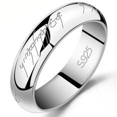 Nhẫn nam Bạc Hiểu Minh na019 chúa tể những chiếc nhẫn