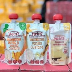 Váng sữa Heinz 120gr Nội Địa Úc – CHO BÉ TỪ 8 THÁNG TUỔI vị xoài