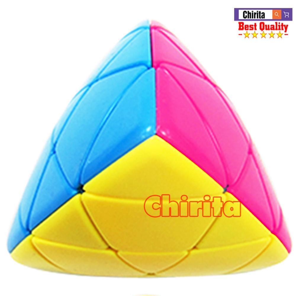 Rubik Biến Thể Magic Cube Tam Giác Lồi Hãng FANXIN - Rubik Tam Giác Không Viền Cao cấp