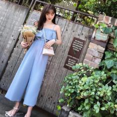Jumsuit quần dài xanh blue ( dưới 57kg)