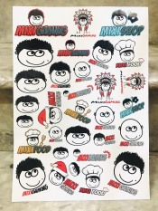 Set 30-60 Sticker Hình Độ Mixi