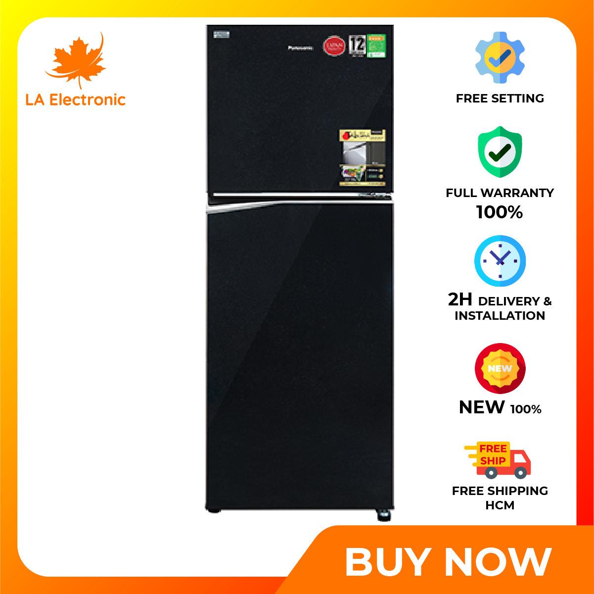 Trả Góp 0% – Tủ Lạnh Panasonic Inverter 268 lít NR-BL300PKVN – Miễn phí vận chuyển HCM