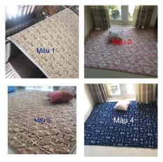 Thảm lông đa năng trải giường – Tấm trang trí nệm có hoa văn ( thảm chần sunli 1.8*2m)