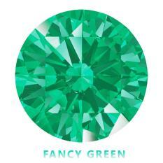Kim cương nhân tạo Swarovski – Đá màu xanh lá tươi (FANCY GREEN)