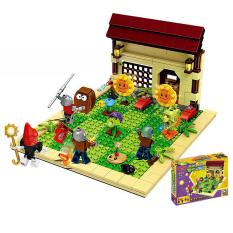 Đồ chơi lego xếp hình hoa quả nổi giận plant and zombies