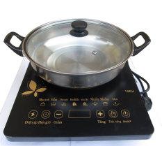 Bếp điện từ Media MD-BT1820 tặng kèm nồi – Bếp từ đơn phím cơ media md-bt1820 công suất 2000W