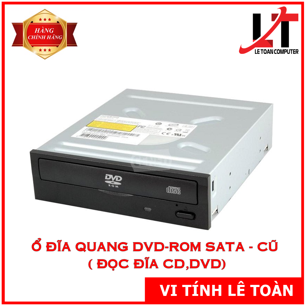 Ổ đĩa quang DVD-ROM SATA – Cũ ( Đọc đĩa CD,DVD)