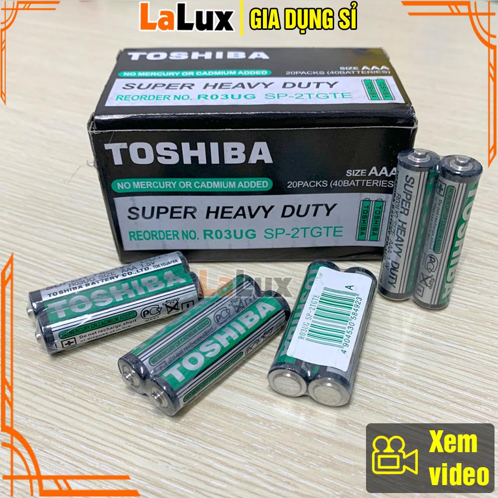 ( PIN 3A ) Hộp Pin AAA TOSHIBA 1.5V ( 40 Viên ) - Pin 3A , Pin Tiểu Nhỏ,...