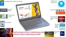 Laptop Đồ Họa, Lập trình Dell Latitude E6540 i7 4810MQ/ Ram 8Gb/ SSD 128 + HDD 500Gb/ Card rời AMD Radeon 8790M 2Gb/ Full HD.