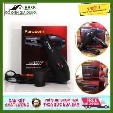 Máy sấy tóc, tạo kiểu tóc Panasoni 2 chiều 3500w, có ánh sáng xanh kháng khuẩn thích hợp cho mọi loại tóc, tiện lợi, [Tặng khăn làm khô tóc]