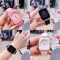 Đồng hồ nữ dây da GUOU A45 TREND 2020 đồng hồ kim thời trang cho phái đẹp