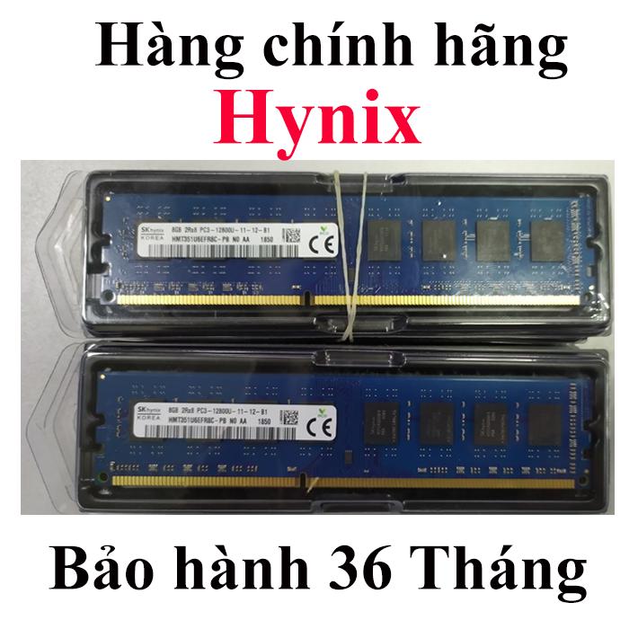 Ram Hynix 8GB Bus 1600 mới 100% cho máy tính để bàn, Ram cho máy tính cây PC – Bảo hành 36 Tháng