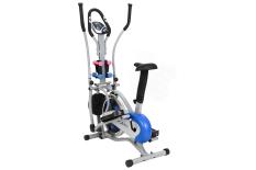 Xe đạp tập Obitrack Elite MO 2085 màn hình LCD, có yên ngồi, tạ tập tay, khung thép thiết kế chắc chắn
