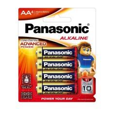 Pin AA Panasonic Ankaline siêu bền LR6T/4B – Hàng chính hãng, pin không chứa chì, giữ năng lượng lên đến 10 năm, kích thước AA (tiểu), xuất xứ Thái Lan