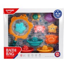 Set 10 món đồ chơi nhà tắm Huanger HE0247