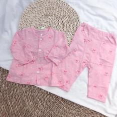 Bộ lullaby sơ sinh bèo hồng thỏ trắng bướm, cam kết sản phẩm đúng mô tả, chất lượng đảm bảo an toàn đến sức khỏe người sử dụng