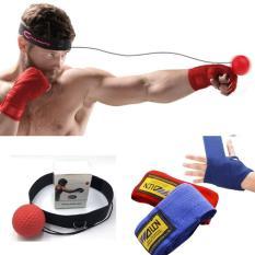 Combo 02 Băng Đa Võ thuật Walon + Bóng Phản Xạ Võ Thuật Treo Đầu – Thiết bị tập phản xạ boxing chuyên nghiệp – Dành cho mọi đối tượng