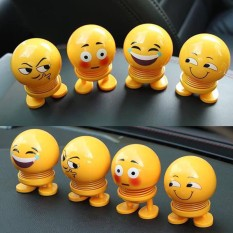 Thú Nhún Emoji Con Lắc Lò Xo – Cảm Xúc – Siêu Chất – Siêu Vui , Hình Emoji Biểu Cảm Hài Hước Lắc Đầu Ngộ Nghĩnh, Thú Nhún Emoji Con Lắc Lò Xo Con Nhún ( Hình Ngẫu Nhiên )