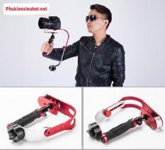 (GIÁ SỐC)Tay cầm quay phim chống rung cho máy ảnh và điện thoại