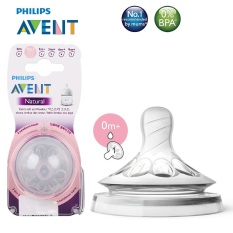 Núm ti silicone Philips Avent Natural cho bé