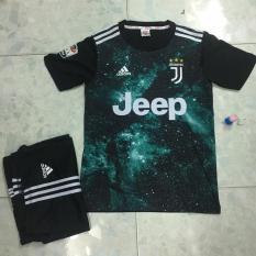 Bộ quần áo bóng đá Juventus xanh ngân hà (galaxy) cực đẹp!