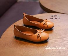 Giày Bé Gái Màu Vàng Kiểu Dáng Hàn Quốc GA14