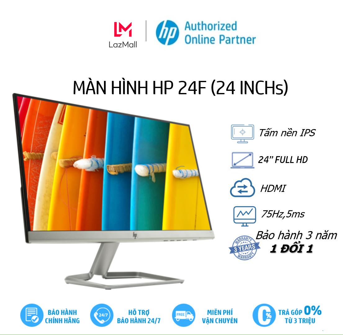 [Trả góp 0%]Màn hình máy tính HP 24f 23.8 inch-3AL28AA – Hàng Chính Hãng