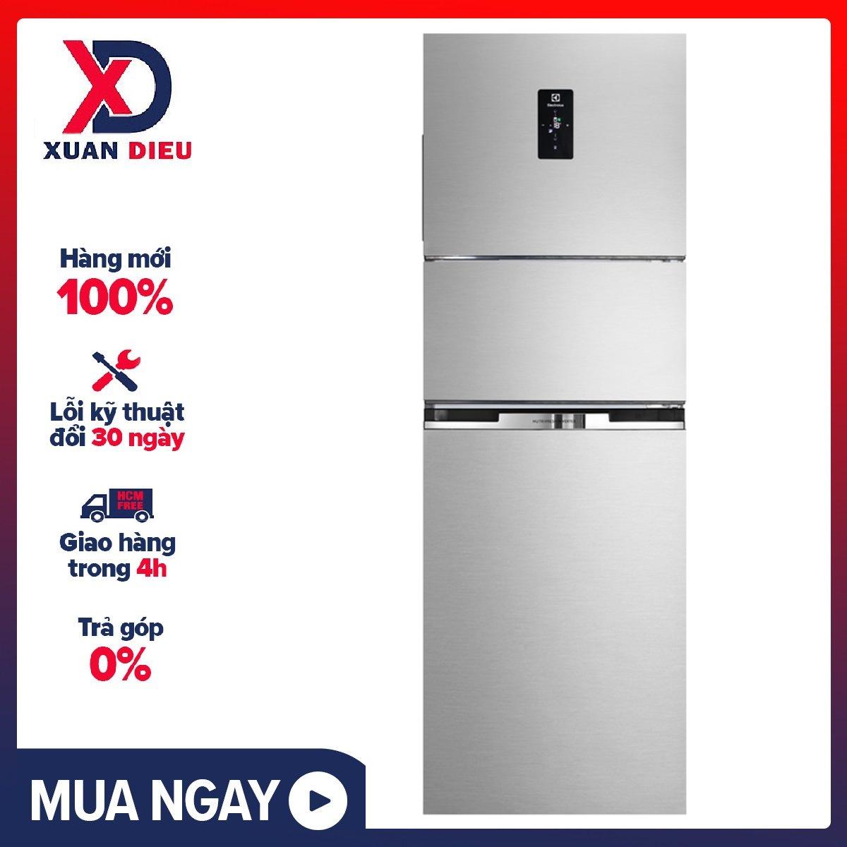 [Trả góp 0%]Tủ lạnh Electrolux Inverter 340 lít EME3700H-A – Miễn phí vận chuyển HCM