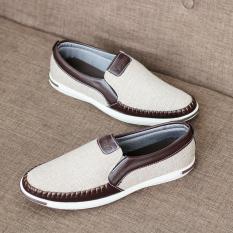 Giày lười nam vải – Giày thể thao- khuyến mãi chào xuân