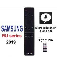 điều khiển tivi SAMSUNG smart dòng RU giọng nói 2019