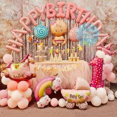 Set bóng trang trí sinh nhật cho bé y hình (Kèm bơm + keo) – Hello Baby