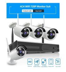 Bộ KIT Camera 2.0MP Thân XMEYE Ngoài Trời 3 LED + Đầu Ghi 4 Kênh + Nguồn Camera (Chưa gồm ổ cứng)
