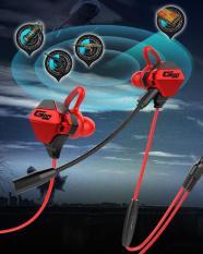 Tai Nghe Gaming G10 có Micro Trò chuyện (Dây đỏ) – Tai nghe gaming có micro;tai nghe nhét tai có dây;tai nghe jack 3.5mm;tai nghe có dây;tai nghe không dây;tai nghe chụp tai gaming;tai nghe gaming cho điện thoại – Tonoto Store